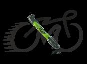 Насос Zefal Mini Jet (8288B), зеленый пластиковый до 7 bar, 90g, 230мм,
