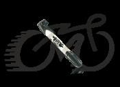 Насос Zefal Mini Jet (8288C),белый пластиковый до 7 bar, 90g, 230мм,