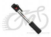 Насос Zefal Air Profil Switch (8460), алюминиевый, 7 bar, 110g., 200мм серебристый