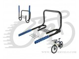 Крепление велосипеда KW-7012-01-2, под раму с площадкой для шлема, вес 2,85 кг.