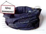 Бандана-Бафф mastervelo черно-жовтий 056