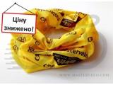 Бандана-Бафф mastervelo жовто-черний 057