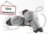 Налокотники EXUSTAR CPH20, черно-белые