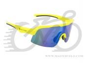 Окуляри сонцезахисні Author Shadow, лінзи сині з REVO ефектом, неоново жовта оправа 9201303