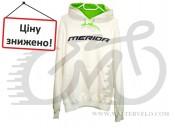 Толстовка с капюшоном Merida , white, brand edition, размер M