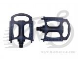 """Педали Author TU-822 ball type пластмассовые для вело 24"""" и 26"""" размеров, вес 285 гр."""