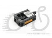 Педалі Author APD-113 Simplex, складні, колір : сріблясто/чорні 34399092