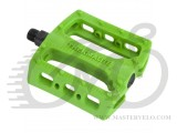 "Педали Stolen THERMALITE PEDAL 9/16"" LOOSE BALL, пара, салатовый"
