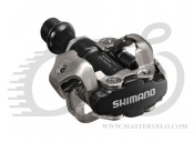 Педали Shimano PD-M540, SPD MTB автомат черн  PDM540L