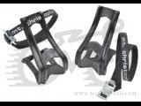 Туклипсы Zefal ToeClip 43 L (4356/4038) пластиковые с ремешками, L/XL, черные
