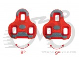 Шипы к педалям Look KEO GRIP RED, KEO system, люфт 9 градусов, PIN-50-02