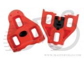 Шипы к педалям Look Cleat Delta Red system, люфт 9 градусов, PIN-39-47