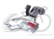 Переключатель передний Shimano  FD-M4000, Down-Swing, 34,9/31,8/28,6мм адапт, универс.тяга