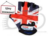 Перчатки детские Kiddimoto британский флаг, М на возраст 4-7
