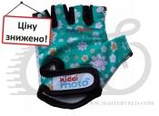 Перчатки детские Kiddimoto Fleur, размер М на возраст 4-7лет