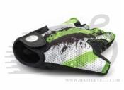 Перчатки Author Junior X6, размер S, зелёно-черные, 7130906