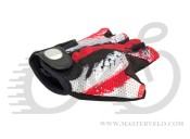 Перчатки Author Junior X6, размер S , красно белые 7130900