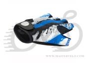 Перчатки Author Junior X6, размер L, сине белые 7130905