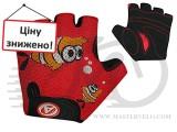 Перчатки Author Junior Fish, размер M, красно/черные с рыбкой, 7130886