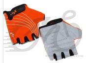 Перчатки X17 XGL-118OR детские, оранжево-черные, M