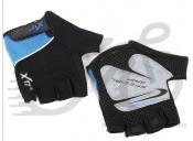 Перчатки X17 XGL-511BL сине-черные, XL