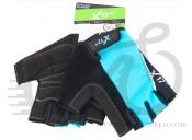 Перчатки X17 XGL-524BL сине-черные, M