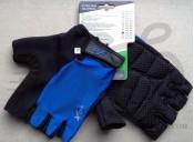 Перчатки X17 XGL-525BL сине-черные, XS