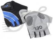 Перчатки X17 XGL-552BL гелевые, сине-черные, XS