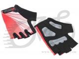 Перчатки X17 XGL-554RD гелевые, красно-черные, M