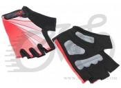 Перчатки X17 XGL-554RD гелевые, красно-черные, XS