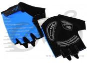 Перчатки X17 XGL-578BL гелевые, сине-черные, L