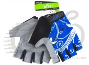 Перчатки X17 XGL-655BL гелевые, черно-синие, XL