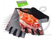 Перчатки X17 XGL-655OR гелевые, черно-оранжевые, S