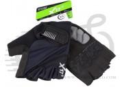 Перчатки X17 XGL-675BK гелевые, черные, XL