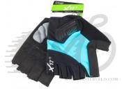 Перчатки X17 XGL-675BL гелевые, сине-черные, XL