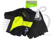 Перчатки X17 XGL-675GR гелевые, зелено-черные, S