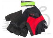Перчатки X17 XGL-675RD гелевые, красно-черные, XL