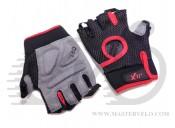 Перчатки X17 XGL-521RD красно-черные, L