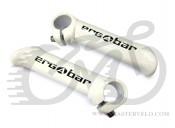 Роги AUTHOR ABE-302 Crn Ergobar, білі, алюміній 6061,