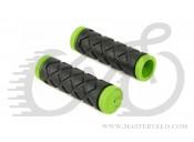 Гріпси Author AGR Junior R5, довжина 100 мм, колір зелено/чорні, 33455011