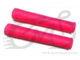 Грипсы Stolen LOOT GRIP NO FLANGE, 160mm W VORTEX BARENDS, розовый