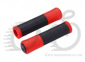 "Ручки руля BBB BHG-97 ""Viper"" 130мм черно-красные (8716683116175)"