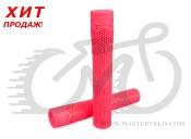 Грипсы Stolen HIVE, 165мм, без фланцев, с барендами VORTEX, розовые