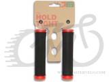 Грипсы Green Cycle GC-G103 130mm черно-красные