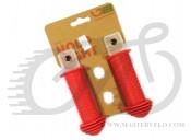 Грипсы Green Cycle GGR71 96mm детские, эргономичные, красные