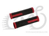 Ручки керма Longus GRID, червоно/чорний 38256