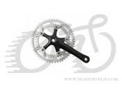 Комплект шатунов PROWHEEL SOLID-321 172,5mm 52/42T black/silver
