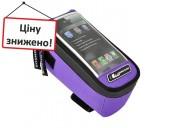 Сумка на раму Longus MEDIA, фиолетовая 399032