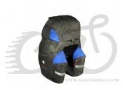 Велосумка на багажник BOLIDE 60 (чорний+синій) Соmmаndor