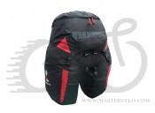 Велосумка на багажник BOLIDE 60 (чорний+червоний) Соmmаndor